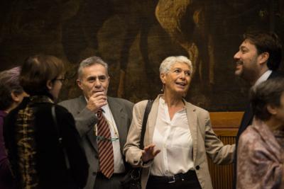 Angelo Foletto, Francesca Grassi e Tommaso Montanari al Convegno