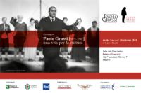 """Invito convegno """"Paolo Grassi. Una vita per la cultura"""""""